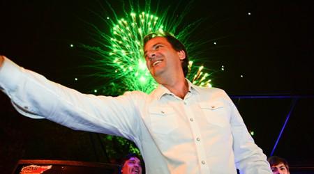 """Mano a mano con DIA 32, el jefe comunal electo habla de todo: los resultados de las elecciones, los gastos de la campaña, la herencia de Guzmán, el perfil de su gobierno y las primeras medidas que tomará. """"Quiero que a Escobar le vaya lo mejor posible""""."""